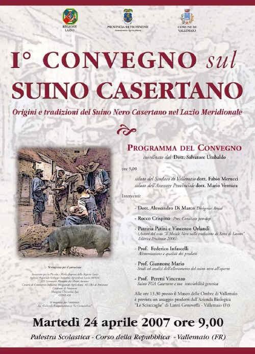 1° Convegno sul suino Casertano