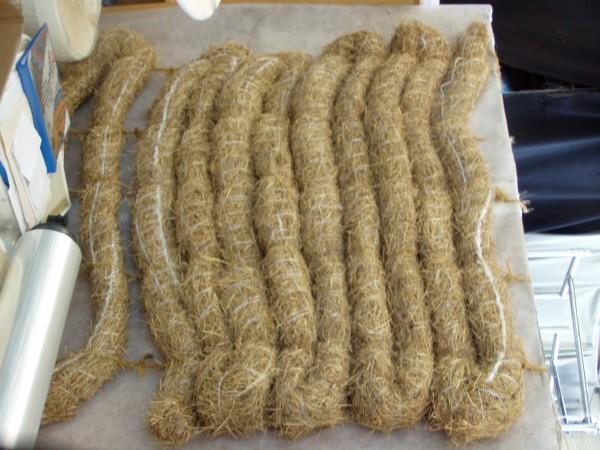 Manicotto di lana per la protezione delle piante