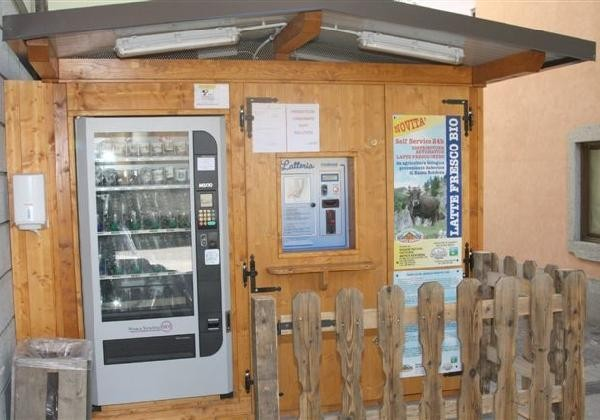 Il distributore di latte crudo di Pinzolo (TN)