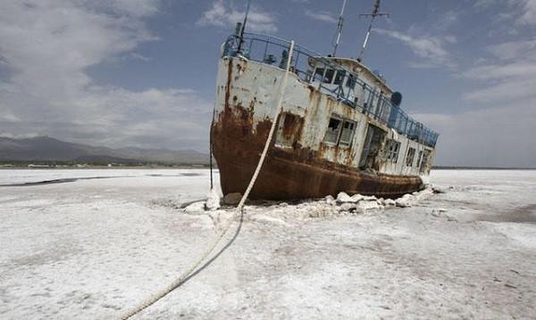 Lago Aral adesso