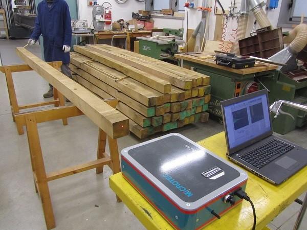 La classificazione secondo la resistenza del legname per uso strutturale