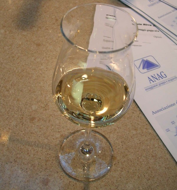 Bicchiere per la degustazione