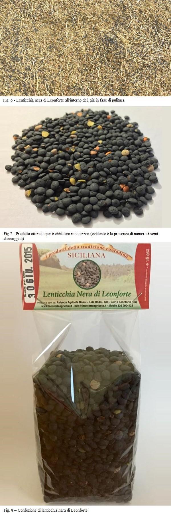 La lenticchia nera di Leonforte