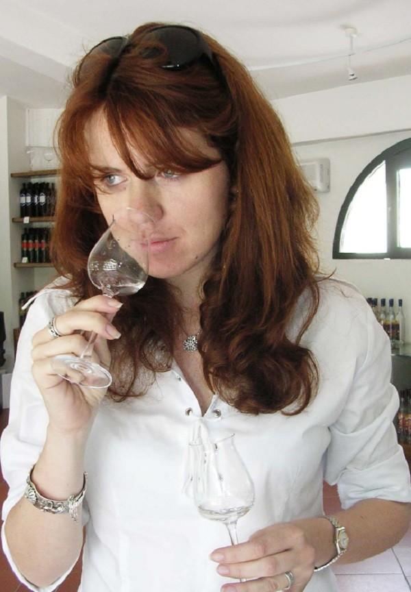 L'autrice, Maria Lucia Nosi