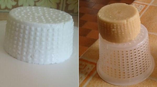 Formaggio con latte di asinaottenuto mediante coagulazione enzimatica con chimosina di cammella