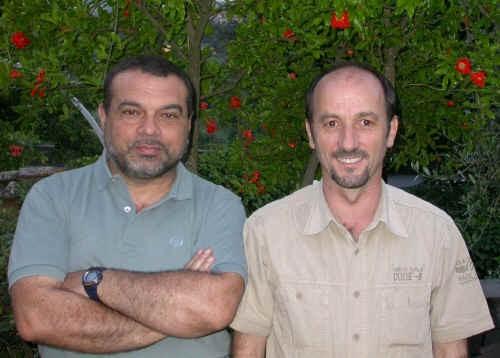 Mario Giannone e Marco Salvaterra