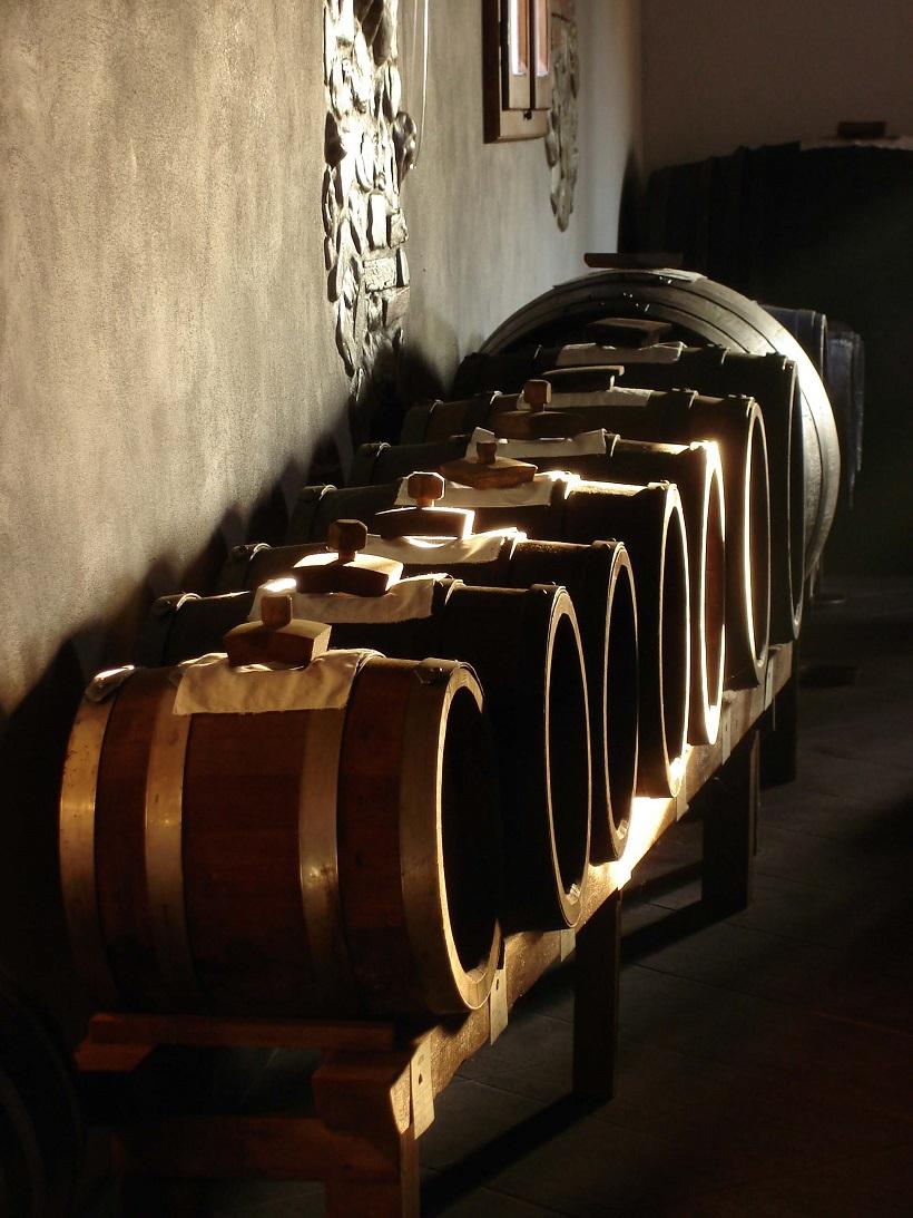 aceto balsamico tradizionale modena batteria botti legno invecchiamento