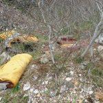 L'abbandono dei rifiuti in zone agricole