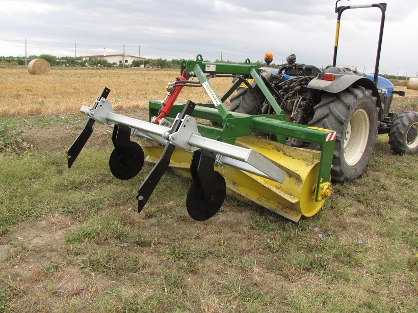 Roller Crimper trattore agricolo macchina