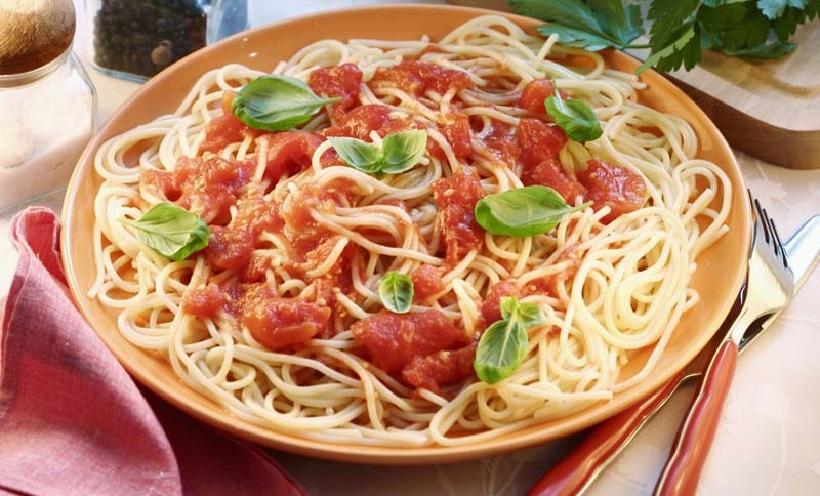 spaghetti italia cibo