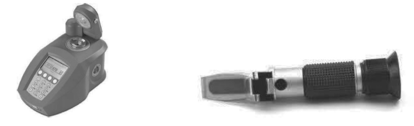 rifrattometro banco portatile uva acino mosto