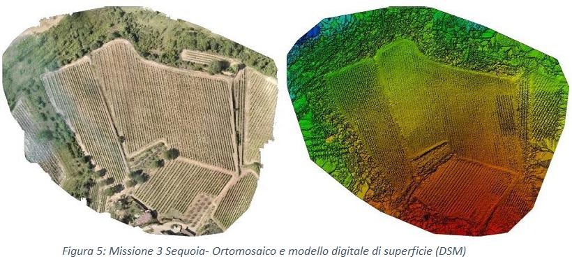 sensori droni agricoltura