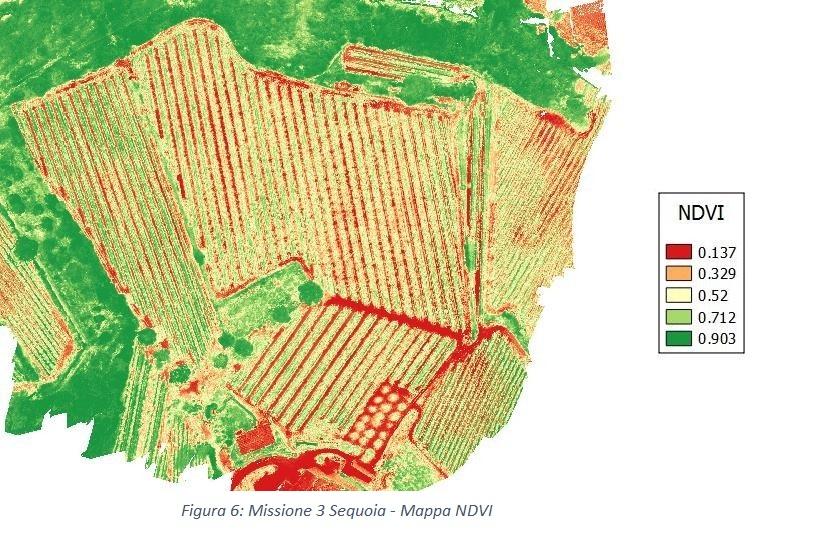 droni agricoltura sensori sequoia