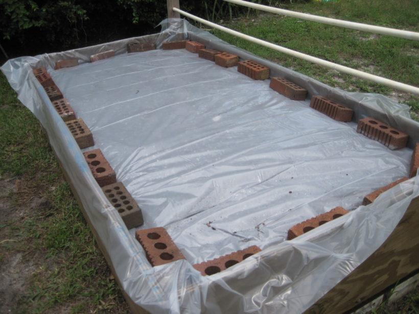 Solarizzazione per orto domestico
