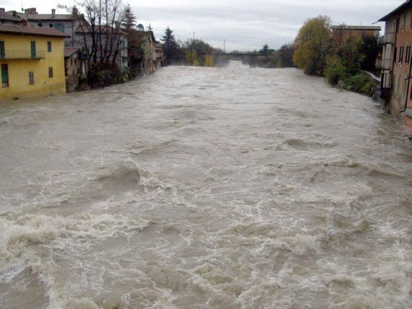 fiume serio piena climatici agricoltura