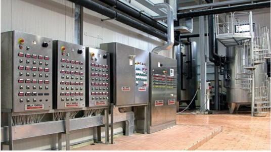 sistema controllo temperatura cantina vino acciaio