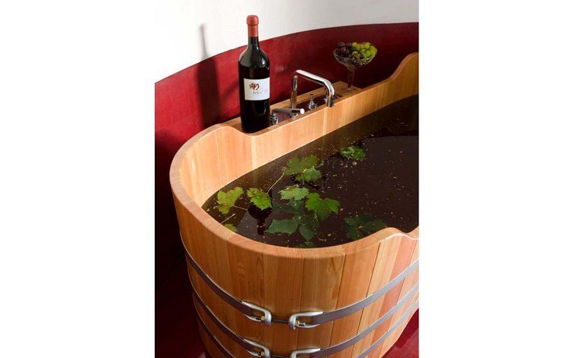 vinoterapia cantina botte vino italia