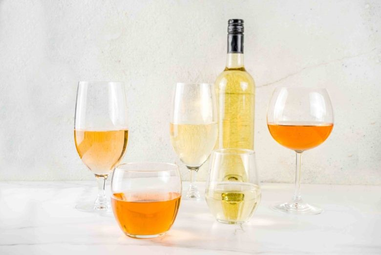 orange wine vino