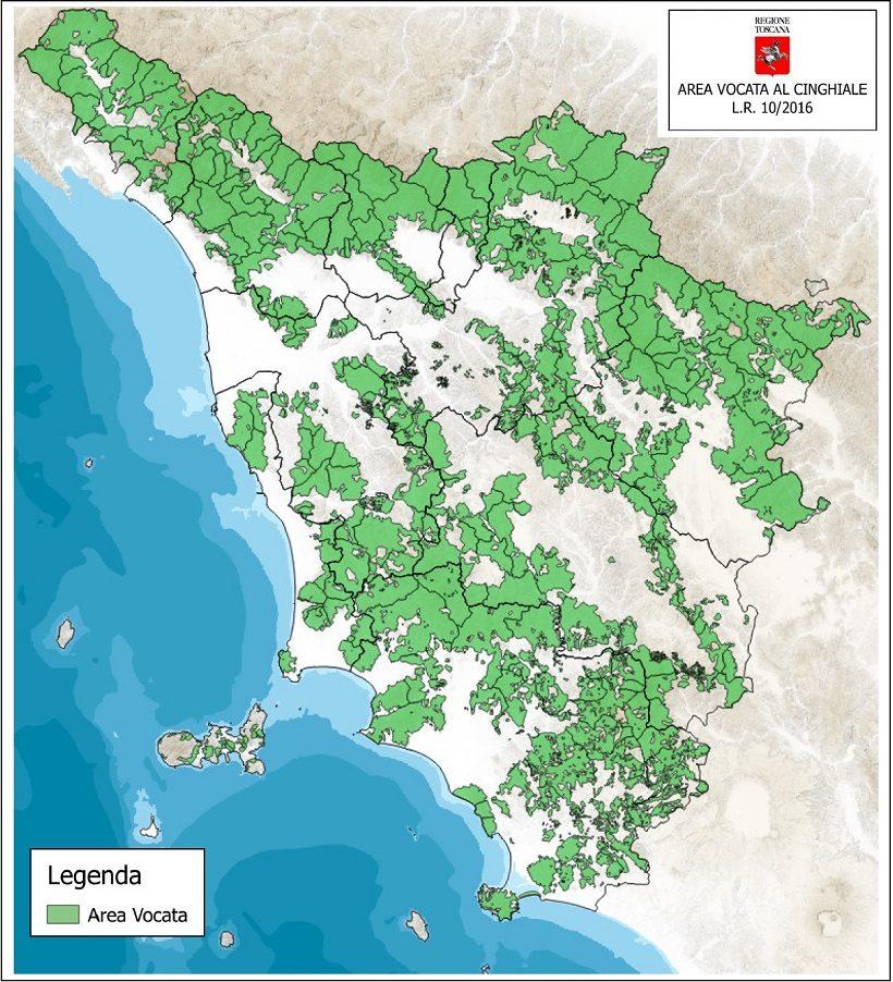 regione toscana cinghiali