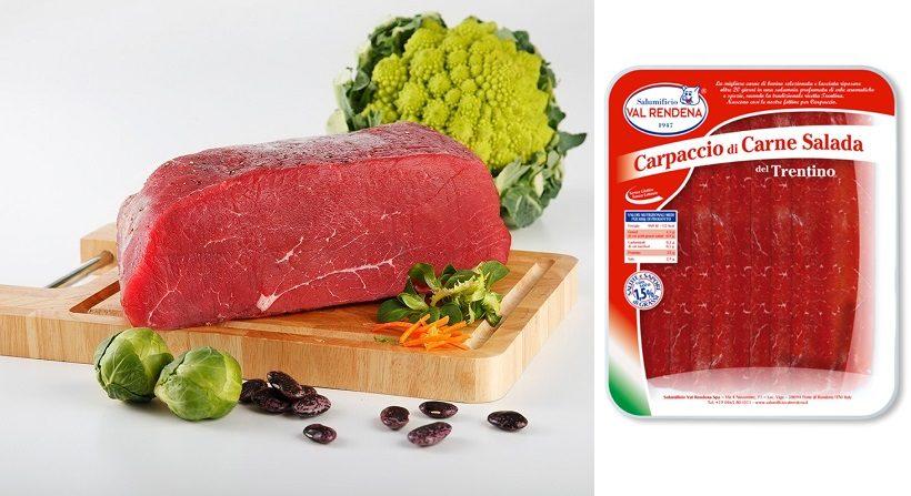 carne salada salumi trentino confezione