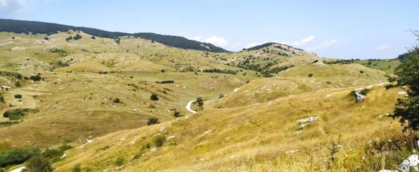 Paesaggio del Demanio di Montagna